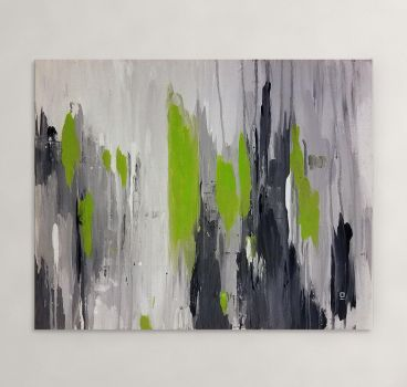Expanse - Original Abstract Acrylic Painting by Acrolyth
