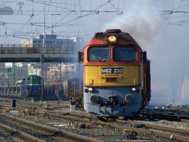 M62 232 depart from Gyor -2010 by morpheus880223