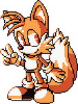 Tails sprite by Zoiby