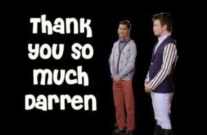 Thanks Darren by Kurtfan