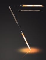 Butterfly Sword - Weapon Set Commission by Maximum-Simplicity