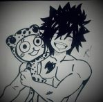 Gray and Frosch ^^ by gabito852