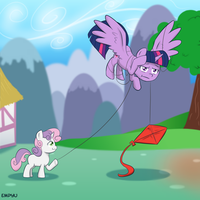 Watch out for kite strings by Empyu