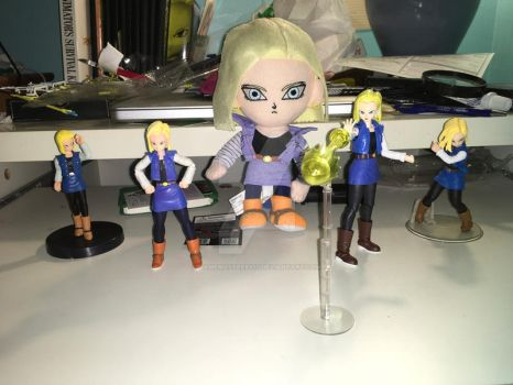 Android 18 times 5 by gamemaster8910