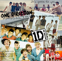 One Direction Pictures by val1drawing