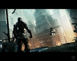 Crysis 2 Wallpaper 3 by Death-GFx