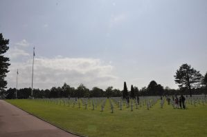 Colleville Cemetery 21 by Cpl-Highway