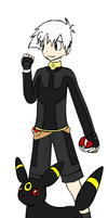 pokemon trainer damion:johto by NeonMusicLOVE