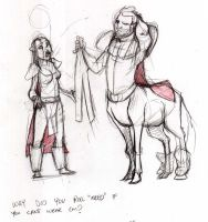 Failed Warcraft race: Centaurs by lethos