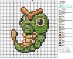 10 - Caterpie by Makibird-Stitching