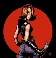 Sweet Bam Colored by deccaart