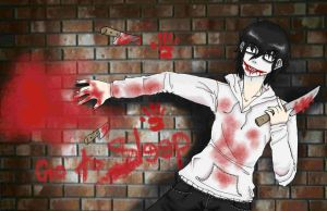 Jeff The Killer by XGirlDeathX