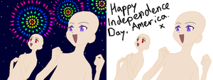 Happy Independence Day Base by Goldflower8