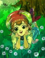 little chef in the nature by meomeoow