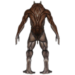 DAZ 3D (Studio): Baryolax #3: Level 2 (Back View) by Blood-PawWerewolf