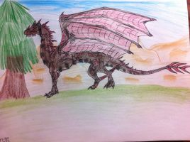 Johnson the Science Dragon by queenfirelily17