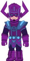 Galactus the planet eater by MCsaurus