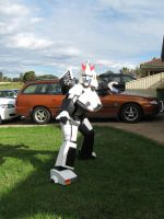 G1 Prowl Cosplay by Deathcomes4u