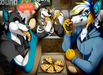 Commission: PIZZA TIME!!! by Blitzy-Arts