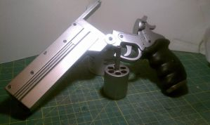 Vash's longcolt .45 revolver replica from Trigun! by weaselhammer