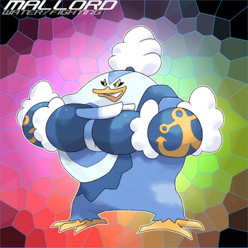 009 Mega Mallord by SteveO126