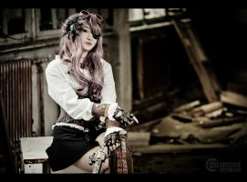 Claire Steampunk V by RemusSirion