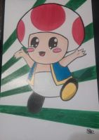 Toad by Sew-What