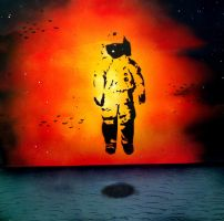 Deja Entendu Cover Art Spray Paint by mikeoncley