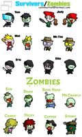 Bob The Zombie Character Sheet by Slushy-man