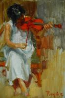 Violinista by rpintor
