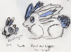 Arcticyan and Antarcyan by Echorus