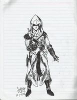 Assassins creed custom assassin by SaddyRemus