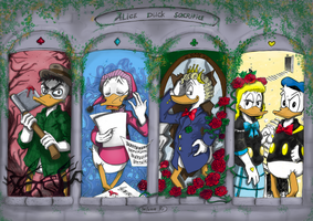 Alice Duck Sacrifice by SalmaRU