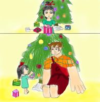 Vanellope's First Christmas by PureAngelDragon713