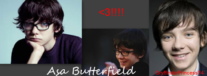 Asa Butterfield FB Timeline Cover by GryffindorPrincess74