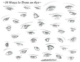 38 Ways to Draw an Eye by WatermelonOwl