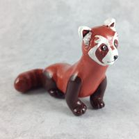 Pabu Sculpture by LeiliaClay