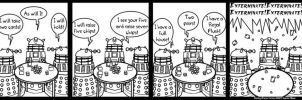 DP:21 Daleks day off by CatsCowCow