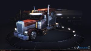 American_Truck_front_view by S-L-A-V-A