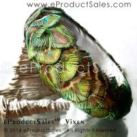 Iridescent Peacock VIXEN Bangle bracelet jewelry by eProductSales