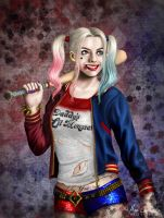 Harley Quinn by MissCherryS8