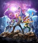 Golden Sun Dark Dawn - Artbook by kaiser-art
