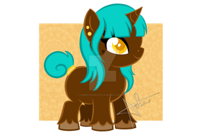 Pony OC:   Auric Treasure by gummysharkcircus