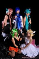 Vocaloid Group by dysama