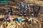 Beast Wars End Game Predacons by Unicron9