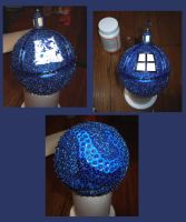 How to Make a Tardis Christmas Ornament pt. 4 by Vivienne-Mercier