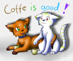 AT 6: Coffee is good by CrispyCh0colate