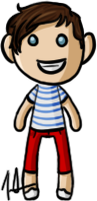 One Direction - Louis by shrimp-pops