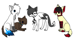 :P.C.: Chibi Cats Everywhere by goatguts