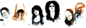 Sandman Portraits by Skinrarb